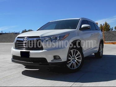 Foto venta Auto Seminuevo Toyota Highlander Limited (2014) color Blanco Perla precio $375,000
