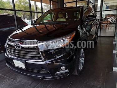 Foto venta Auto usado Toyota Highlander Limited (2015) color Negro precio $395,000