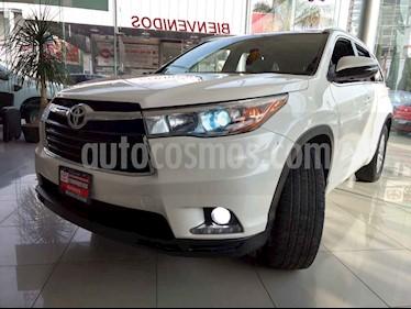 Foto venta Auto usado Toyota Highlander Limited (2014) color Blanco precio $345,000