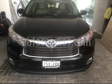 foto Toyota Highlander Limited usado (2014) color Negro precio $315,000