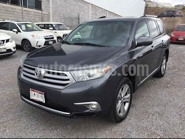 Foto venta Auto usado Toyota Highlander Limited (2012) color Gris precio $210,000