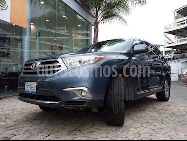 Foto venta Auto usado Toyota Highlander Limited (2013) color Azul precio $265,000
