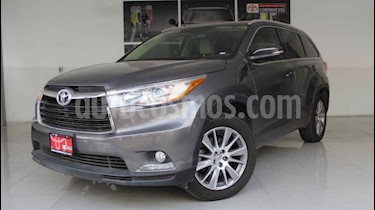 Foto venta Auto usado Toyota Highlander Limited (2015) color Gris precio $370,000