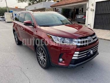 Toyota Highlander Limited usado (2019) color Vino Tinto precio $625,000