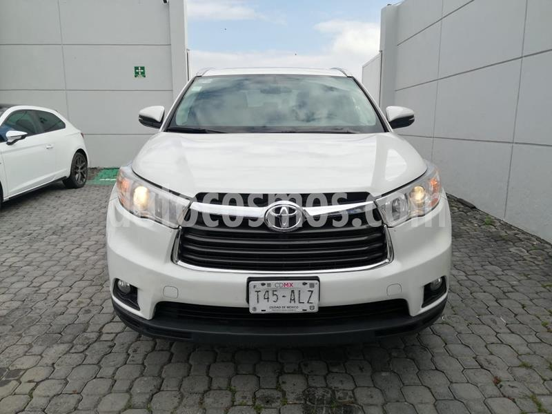 Toyota Highlander Limited usado (2016) color Blanco precio $335,000