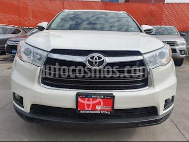 Toyota Highlander XLE usado (2016) color Blanco Perla precio $399,000