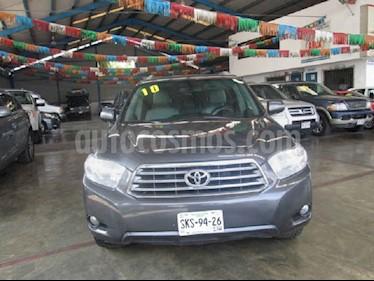 Toyota Highlander Limited usado (2010) color Gris precio $175,000