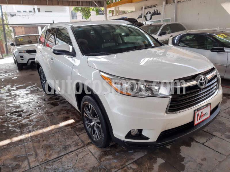 Toyota Highlander XLE usado (2016) color Blanco precio $385,000