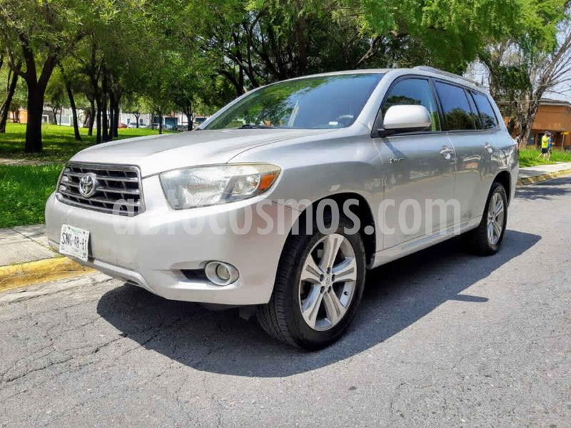 Toyota Highlander Base Premium usado (2008) color Plata precio $145,000