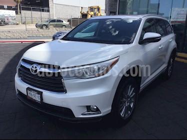Toyota Highlander Limited usado (2014) color Blanco precio $280,000