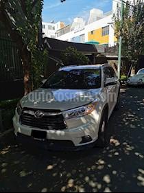 Toyota Highlander XLE usado (2015) color Blanco Perla precio $330,000