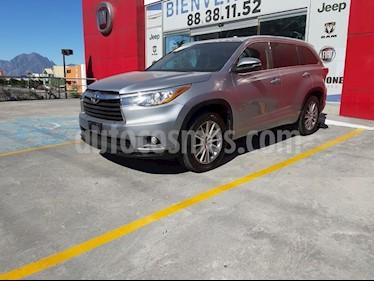 Toyota Highlander Limited usado (2015) color Plata precio $365,000