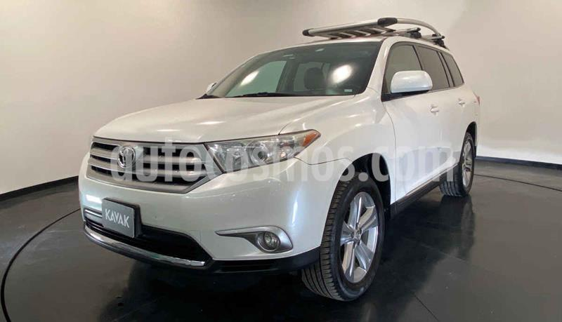 Toyota Highlander Base Premium usado (2013) color Blanco precio $269,999