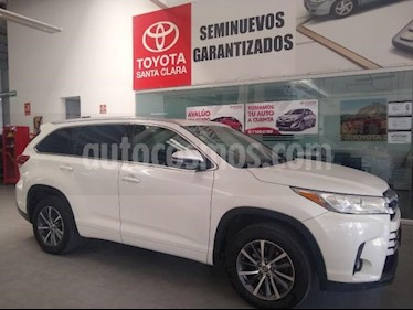 Toyota Highlander 5P XLE TA CLIMATRONIC CD GPS RA-18 usado (2017) color Blanco precio $445,000