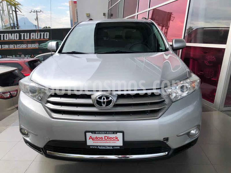 Toyota Highlander Base usado (2013) color Plata precio $229,000