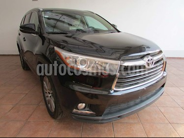 Toyota Highlander Limited Panoramic Roof usado (2015) color Negro precio $375,000