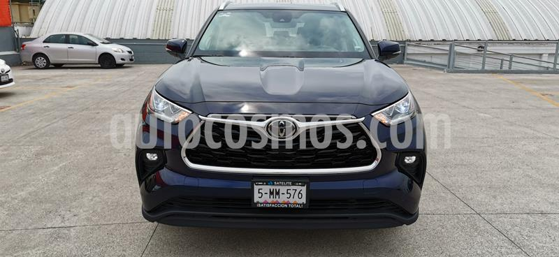 Toyota Highlander Limited Blue Ray usado (2020) color Azul Metalico precio $769,000