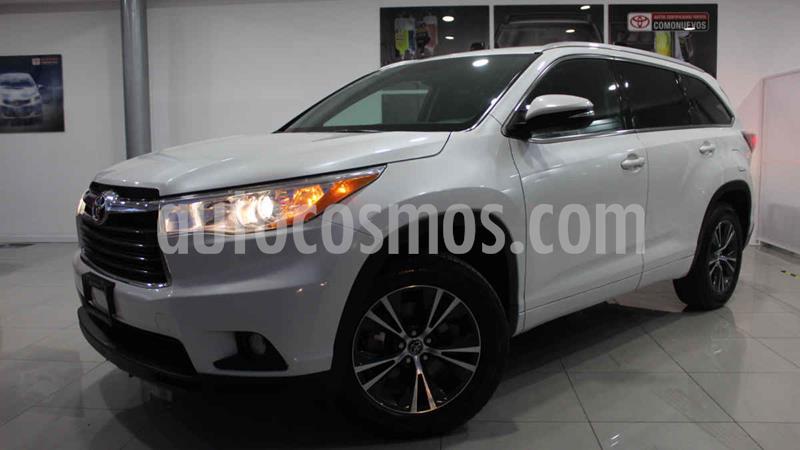 Toyota Highlander XLE usado (2016) color Blanco precio $365,000
