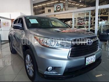 Toyota Highlander Limited usado (2015) color Gris precio $389,000