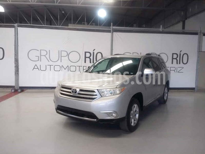 Toyota Highlander Base Premium usado (2012) color Plata precio $210,000