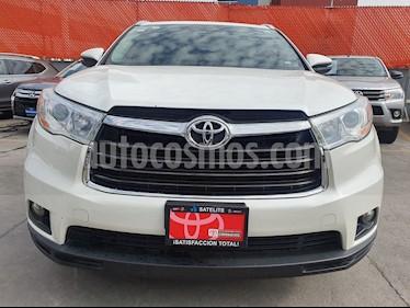 foto Toyota Highlander XLE usado (2016) color Blanco Perla precio $399,000