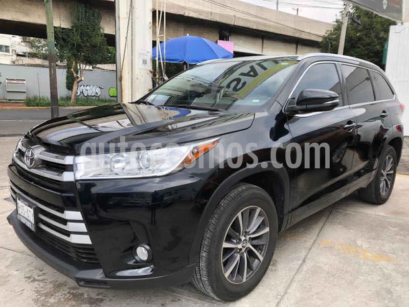Toyota Highlander XLE usado (2018) color Blanco precio $449,000