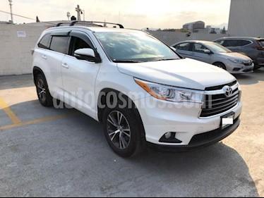 Toyota Highlander 5P XLE TA CLIMATRONIC CD GPS RA-18 usado (2016) color Blanco precio $375,000