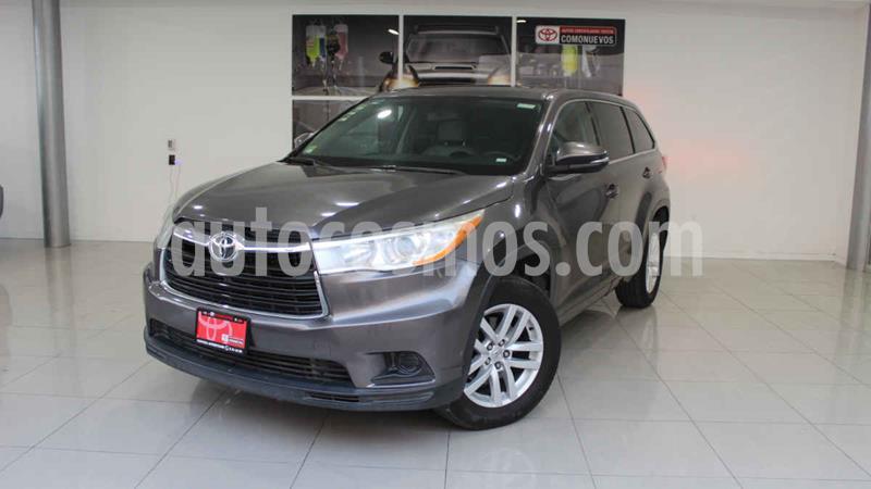 Toyota Highlander LE usado (2014) color Gris precio $270,000