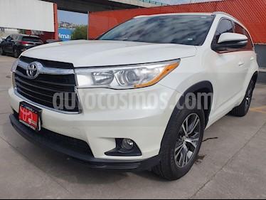 Toyota Highlander XLE usado (2016) color Blanco Perla precio $420,000