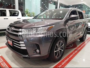 Toyota Highlander 5p XLE V/3.5 Aut usado (2019) color Gris precio $620,000