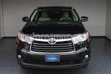 Toyota Highlander Premium usado (2015) color Negro precio $396,500