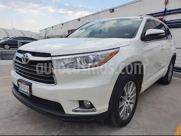 Toyota Highlander Limited Panoramic Roof usado (2015) color Blanco Perla precio $389,000