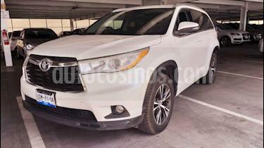 Toyota Highlander XLE usado (2016) color Blanco precio $395,000