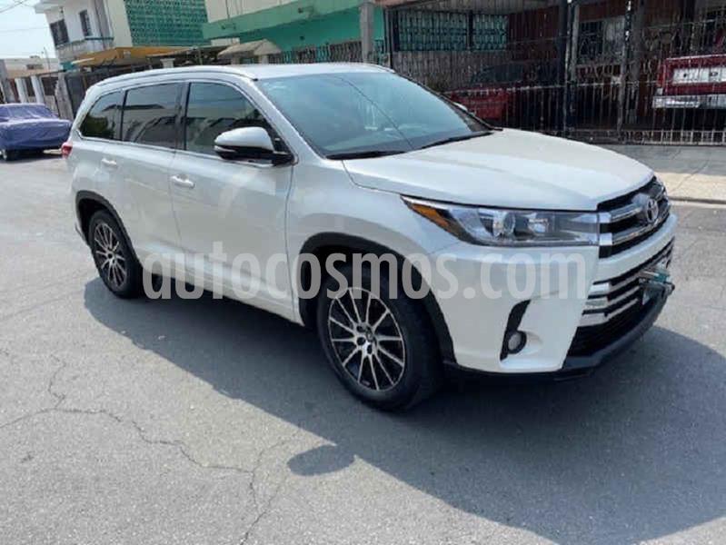 Toyota Highlander Limited usado (2017) color Blanco precio $455,000