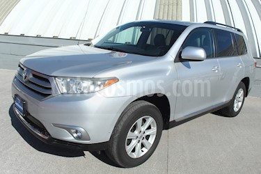 Toyota Highlander Base Premium usado (2012) color Gris Plata  precio $215,000