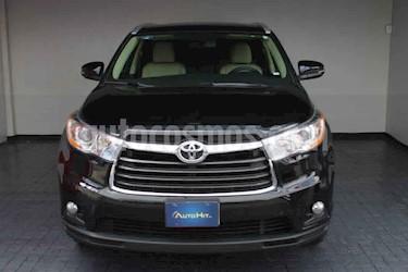 Toyota Highlander Premium usado (2015) color Negro precio $409,000