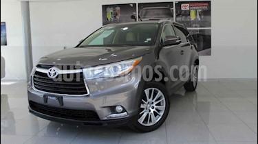 Toyota Highlander Limited usado (2014) color Gris precio $330,000