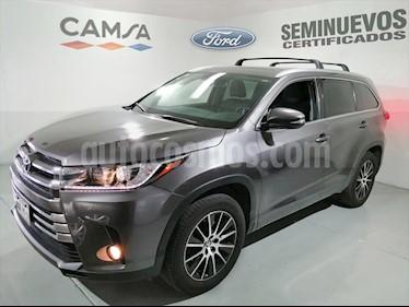 Toyota Highlander Limited Panoramic Roof usado (2017) color Gris Oscuro precio $459,000