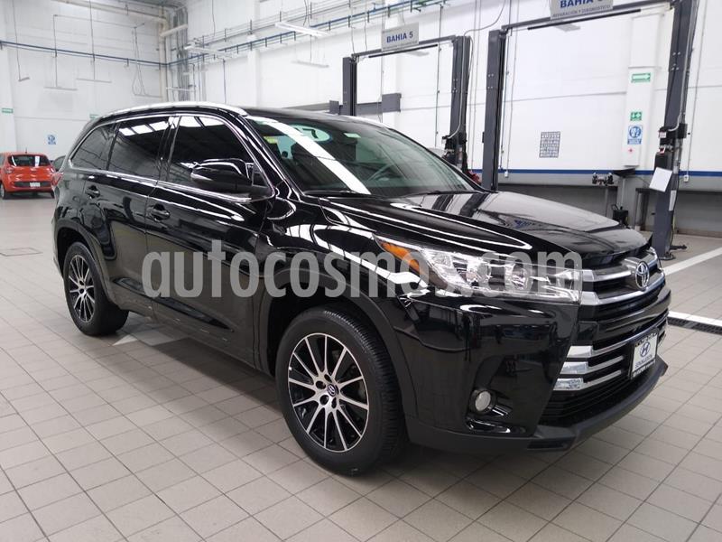 Toyota Highlander Limited usado (2017) color Negro precio $495,000