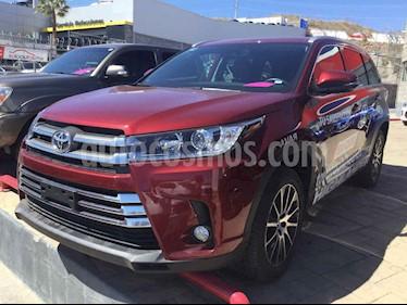 Toyota Highlander Limited usado (2018) color Vino Tinto precio $700,000