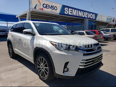 Toyota Highlander Limited Blue Ray usado (2017) color Blanco precio $450,000