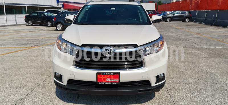 Toyota Highlander XLE usado (2016) color Blanco precio $410,000