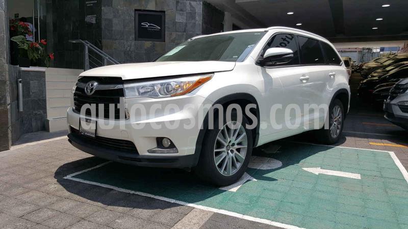 Toyota Highlander Limited usado (2016) color Blanco precio $374,100