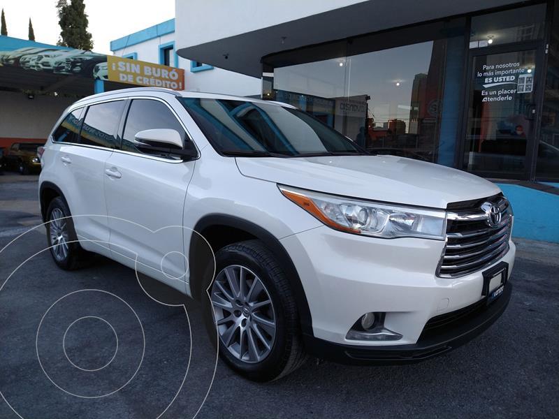 Toyota Highlander Limited usado (2015) color Blanco precio $349,000
