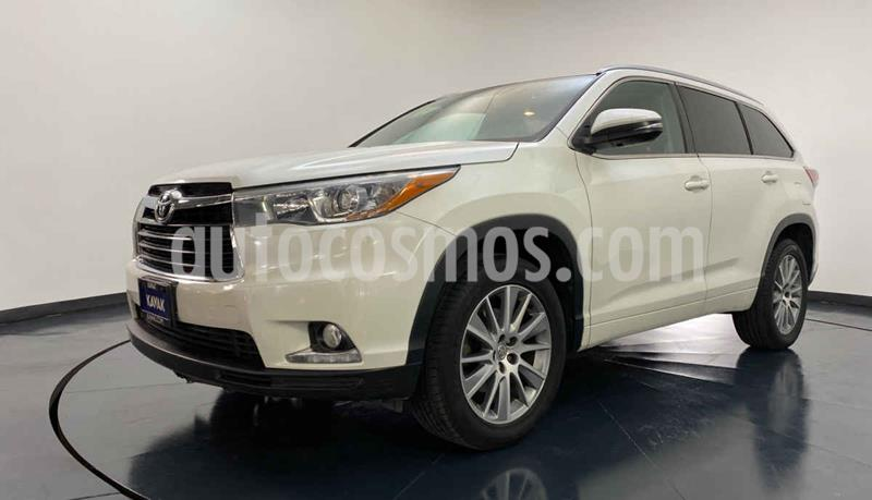 Toyota Highlander Limited Panoramic Roof usado (2015) color Blanco precio $414,999