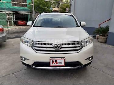 Toyota Highlander Base Premium usado (2013) color Blanco precio $239,000