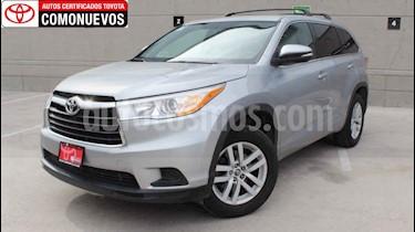 Toyota Highlander LE usado (2016) color Plata precio $345,000