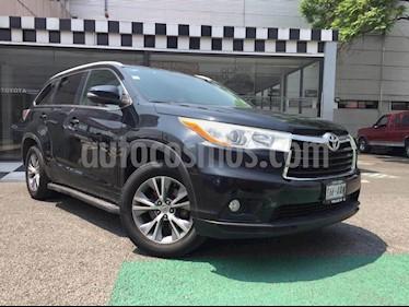 Toyota Highlander Premium usado (2015) color Negro precio $319,000
