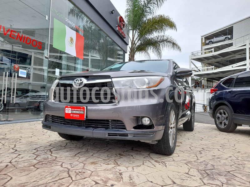 Toyota Highlander Limited usado (2015) color Gris precio $298,000
