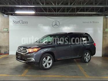 Toyota Highlander 5p Base premium sport aut a/a q/c piel usado (2011) color Gris precio $199,000